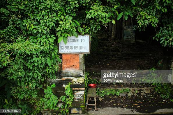 Entrance To The Tomb Of The Trunyan Village Community Bali Trunyan News Photo Getty Images