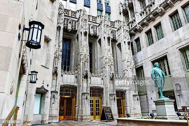 Entrance to the Tribune Tower, Chicago