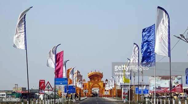 Entrance to the White Desert- Rann Utsav-Kutch-Gujarat