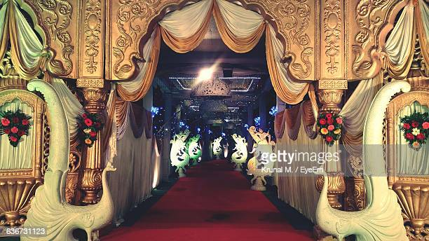 Entrance Tunnel Of Wedding Tent