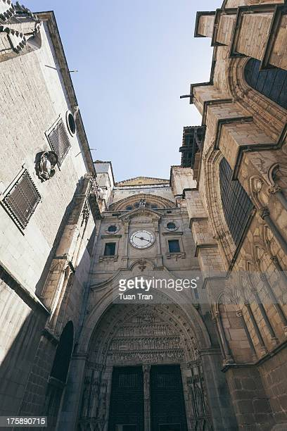 July 16: entrance view of the Cathedral of Toledo, Spain on July 16, 2012.