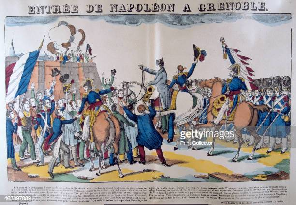 'Entrée of Napoleon to Grenoble' March 1815 19th century