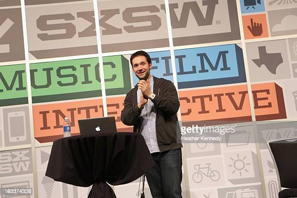 Entrepreneur Alexis Ohanian speaks at the Tales of US Entrepreneurship Beyond Silicon Valley panel during the 2013 SXSW Music Film Interactive...