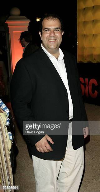 Entrepreneur and chairman of easyjet Stelios HajiIoannou arrives at the MTV Cannes film festival party during the 58th International Cannes Film...