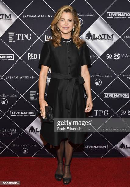 Entrepreneur and former supermodel Kathy Ireland attends Los Angeles Team Mentoring's 19th Annual Soiree at Miramar Hotel on October 19 2017 in Santa...