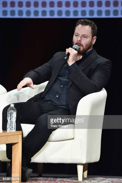 Entrepreneur and philanthropis Sean Parker speaks onstage during Global Citizen Movement Makers at NYU Skirball Center on September 19 2017 in New...