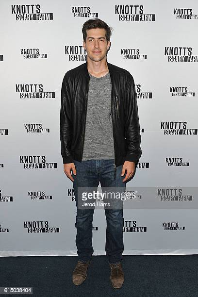 Entrepreneur Andrew Duplessie attends Knott's Scary Farm at Knott's Berry Farm on October 15 2016 in Buena Park California