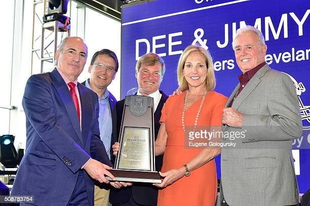 Entrepreneur Cosmo DeNicola North Carolina Governor Pat McCrory sports agent Leigh Steinberg and owners of the Cleveland Browns Dee Haslam and Jimmy...