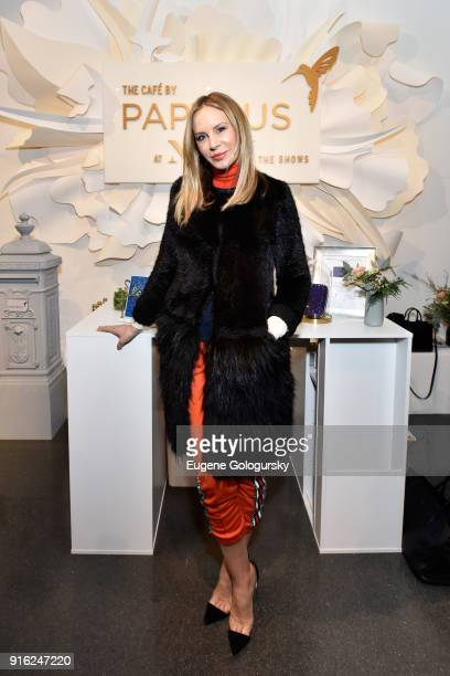 Entrepreneur Dee Ocleppo attends Papyrus and Judith Leiber host Breakfast Mimosas at IMG NYFW The Shows at Spring Studios on February 9 2018 in New...