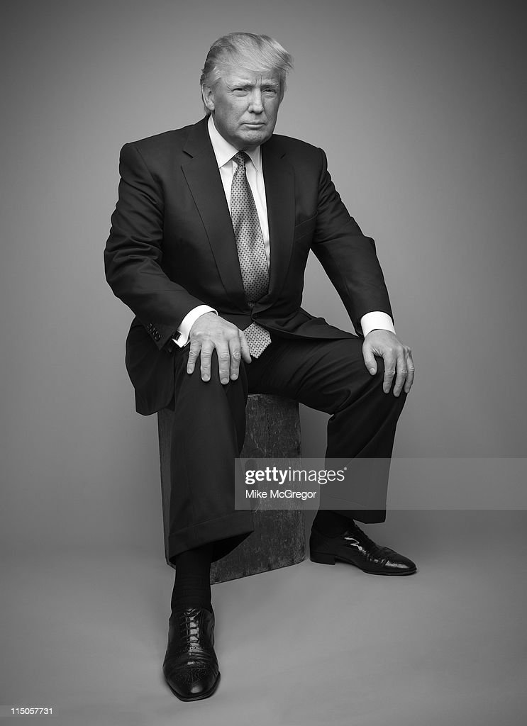 Donald Trump, The London Times, May 21, 2011 : News Photo