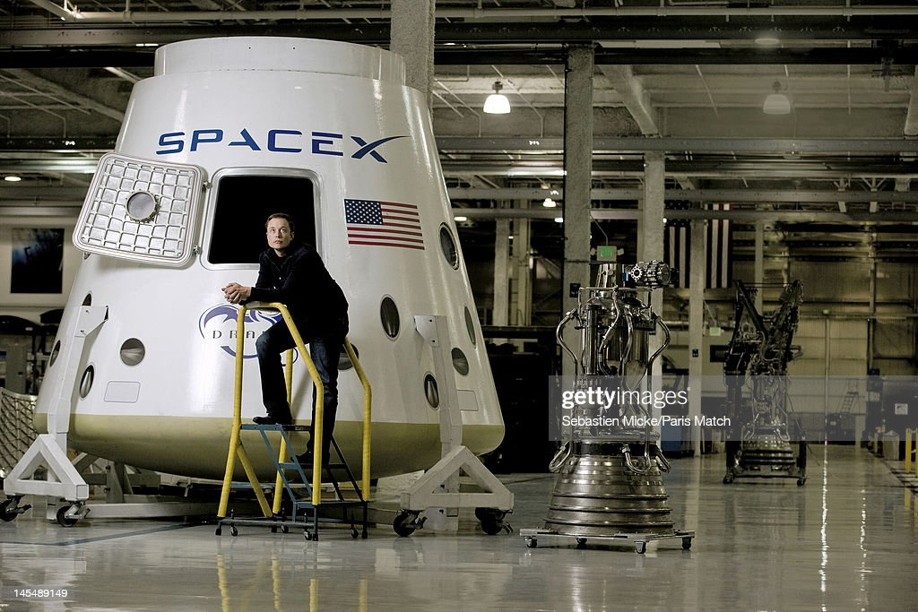Entrepreneur Engineer And Inventor Elon Musk Is Photographed With News Photo Getty Images
