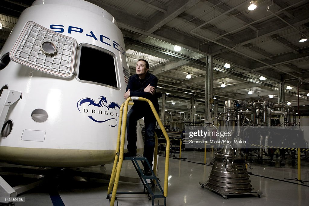 Elon Musk, Paris Match, October 29, 2010 : ニュース写真