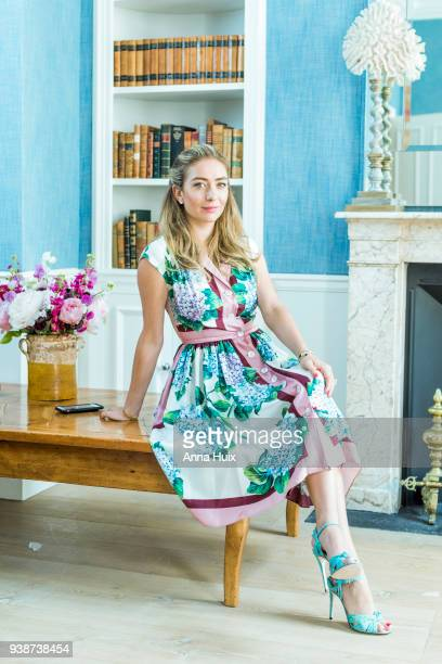 Entrepreneur founder and CEO of Bumble and a cofounder of the dating app Tinder Whitney Wolfe is photographed for the Sunday Times magazine on June...