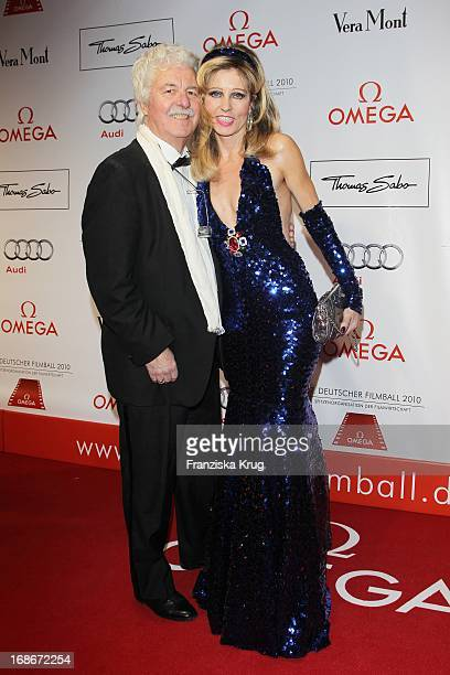 Entrepreneur Hans Georg Muth And His Wife Gisela Muth at 37th German Filmball at Hotel Bayerischer Hof in Munich on 160110