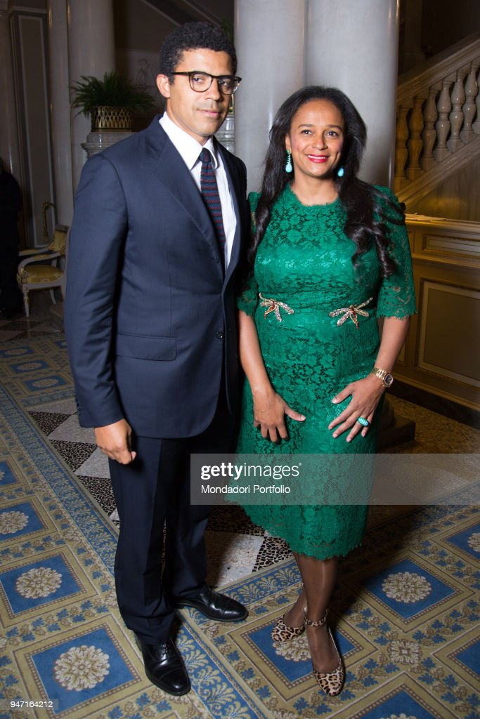 Entrepreneur Isabel Dos Santos With Her Husband Art Collector News Photo Getty Images