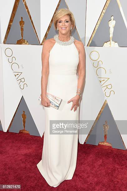 Entrepreneur Joy Mangano attends the 88th Annual Academy Awards at Hollywood Highland Center on February 28 2016 in Hollywood California