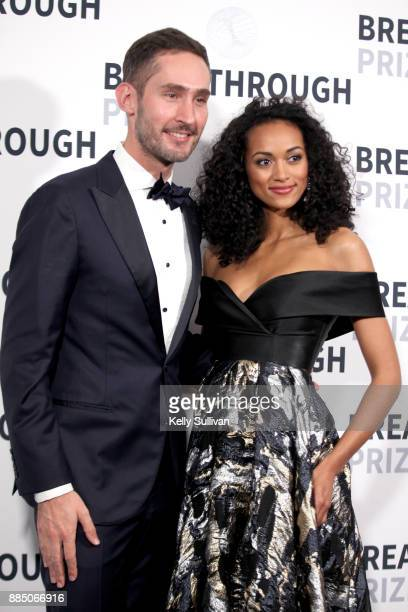 Entrepreneur Kevin Systrom and physical scientist/Miss USA Kara McCullough attend the 2018 Breakthrough Prize at NASA Ames Research Center on...
