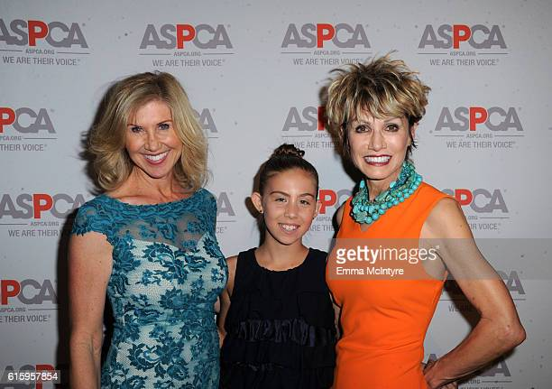 Entrepreneur Kevyn Wynn Zoe Wynn and event host Kathy Taggares attend ASPCA's Los Angeles Benefit on October 20 2016 in Bel Air California