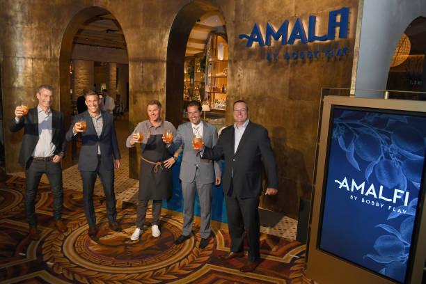 NV: Amalfi by Bobby Flay At Caesars Palace - Grand Opening