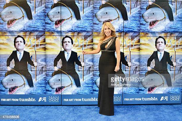 Entrepreneur Lori Greiner attends the 5th Annual Critics' Choice Television Awards at The Beverly Hilton Hotel on May 31 2015 in Beverly Hills...