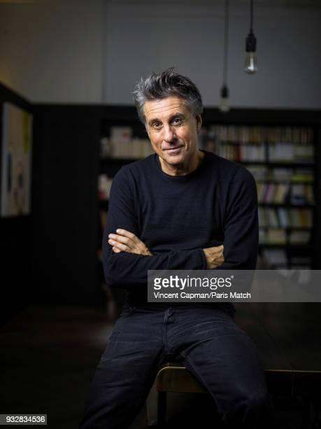 Entrepreneur Marc Simoncini is photographed for Paris Match on February 17 2018 in Paris France