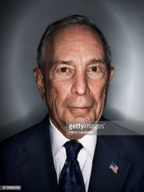 Entrepreneur Michael Bloomberg is photographed for Elle Magazine on August 7 2017 in New York City PUBLISHED IMAGE ON EMBARGO UNTIL JANUARY 1 2018