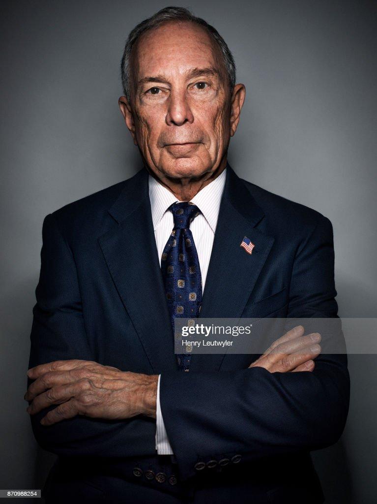 Michael Bloomberg, Elle Magazine, October 2017
