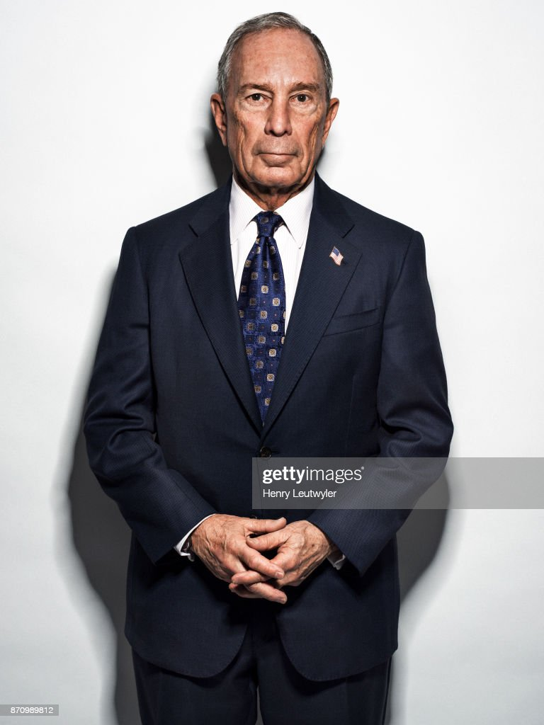 Michael Bloomberg, Elle Magazine, October 2017
