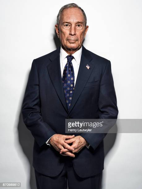 Entrepreneur Michael Bloomberg is photographed for Elle Magazine on August 7 2017 in New York City