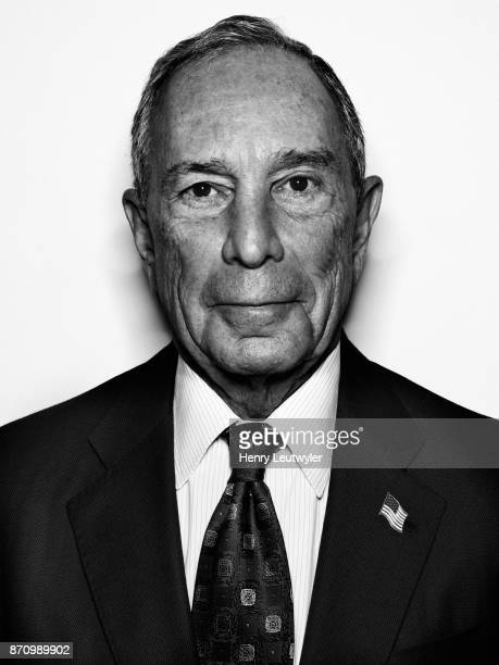 Entrepreneur Michael Bloomberg is photographed for Elle Magazine on August 7 2017 in New York City ON EMBARGO UNTIL JANUARY 1 2018