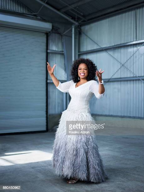Entrepreneur Oprah Winfrey is photographed for Essence Magazine on December 11 2013 in Los Angeles California