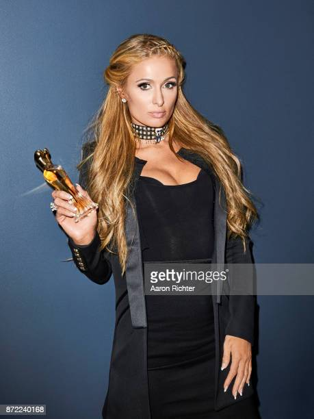 Entrepreneur Paris Hilton is photographed for Marie Claire Magazine on February 1 2017 in New York City ON WORLDWIDE EMBARGO UNTIL SEPTEMBER 1 2018