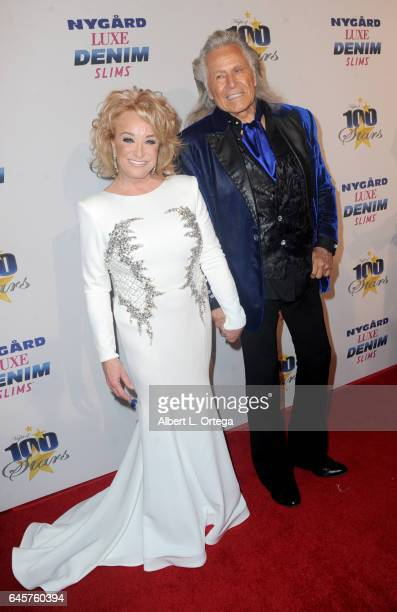 Entrepreneur Peter Nygard and Country singer Tanya Tucker arrive for the Norby Walters' 27th Annual Night Of 100 Stars Black Tie Dinner Viewing Gala...