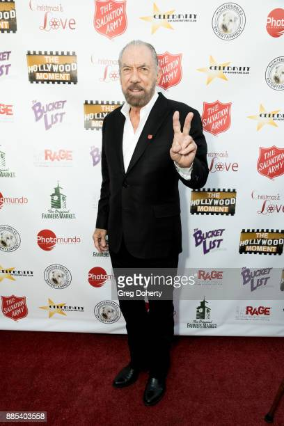 Entrepreneur / Philanthropist John Paul Dejoria attends The Salvation Army Celebrity Kettle Kickoff Red Kettle Hollywood at the Original Farmers...