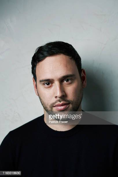 Entrepreneur record executive talent manager philanthropist and record label owner Scooter Braun is photographed for GQ magazine on November 7 2013...