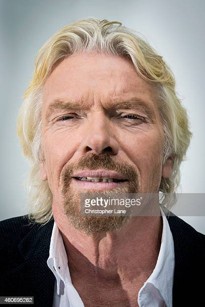 Entrepreneur Richard Branson is photographed for Contently Magazine on September 9 2014 in New York City