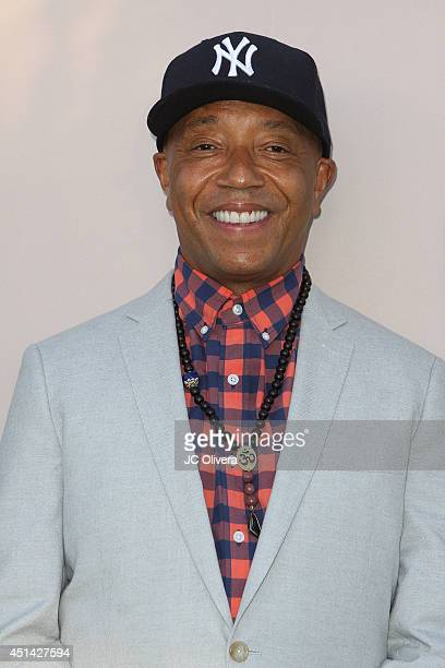 entrepreneur Russell Simmons attends PRE BET Awards Dinner at Milk Studios on June 28 2014 in Hollywood California