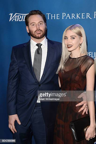 Entrepreneur Sean Parker and Alexandra Parker arrive at the 5th Annual Sean Penn Friends HELP HAITI HOME Gala benefiting J/P Haitian Relief...