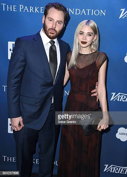 Entrepreneur Sean Parker and Alexandra Parker arrives at the 5th Annual Sean Penn Friends HELP HAITI HOME Gala Benefiting J/P Haitian Relief...