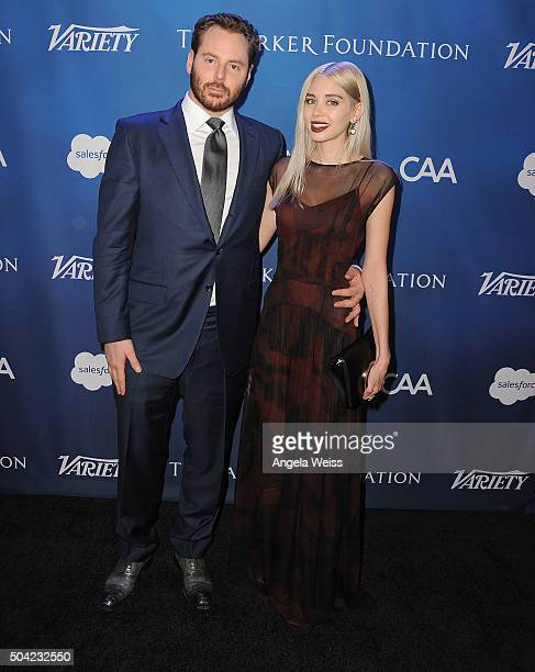 Entrepreneur Sean Parker and Alexandra Parker attend the 5th Annual Sean Penn Friends HELP HAITI HOME Gala benefiting J/P Haitian Relief Organization...