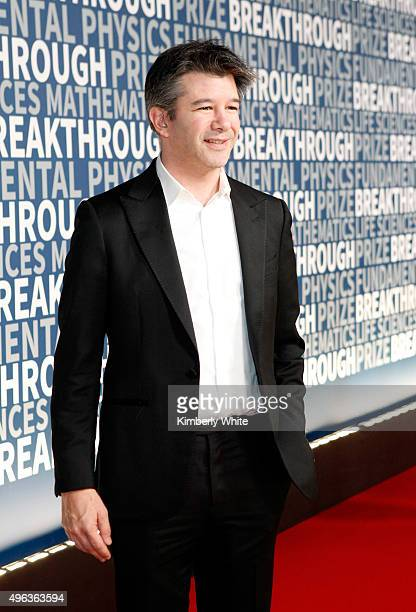 Entrepreneur Travis Kalanick attends the 2016 Breakthrough Prize Ceremony on November 8 2015 in Mountain View California