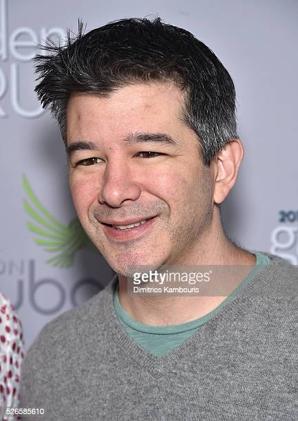 Entrepreneur Travis Kalanick attends the Garden Brunch prior to the 102nd White House Correspondents' Association Dinner at the BeallWashington House...