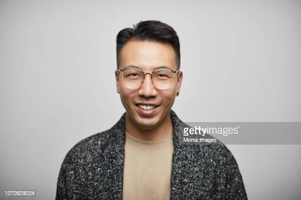 entrepreneur with eyeglasses on white background - 30 39 years stock pictures, royalty-free photos & images