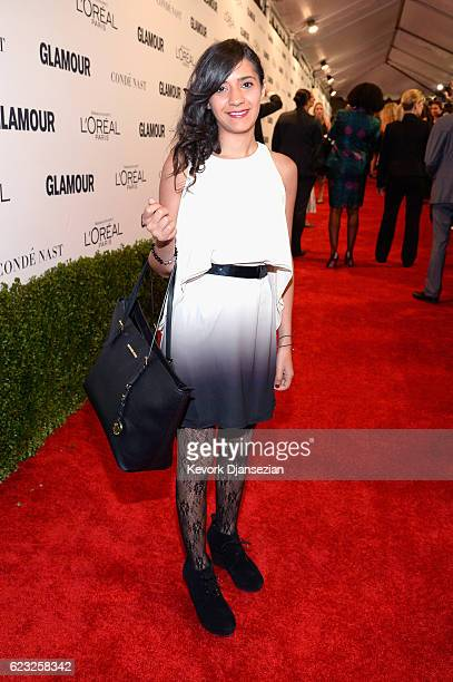 Entrepreneur Yasmine El Baggari attends Glamour Women Of The Year 2016 at NeueHouse Hollywood on November 14 2016 in Los Angeles California