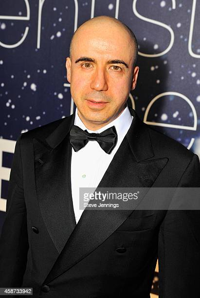 Entrepreneur Yuri Milner attends the Breakthrough Prize Awards Ceremony Hosted By Seth MacFarlane at NASA Ames Research Center on November 9 2014 in...