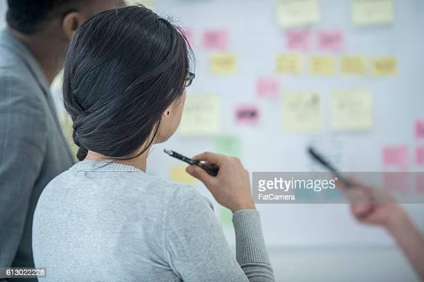 Entrepreneurs Brainstorming Together