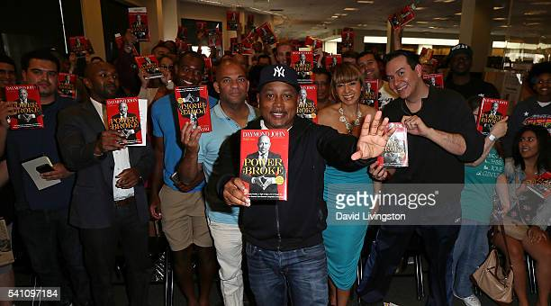 Entrepreneur/TV personality Daymond John attends a signing for his book The Power of Broke at Barnes Noble at The Grove on June 18 2016 in Los...