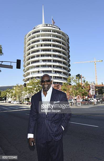 Entrepreur Philanthropist and Author of the New York Times bestseller The Pursuit of Happyness A Memoir Chris Gardner poses for portait at Brand...