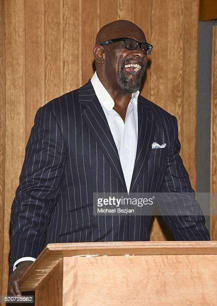 Entrepreur Philanthropist and Author of the New York Times bestseller The Pursuit of Happyness A Memoir Chris Gardner speaks on stage at Brand...