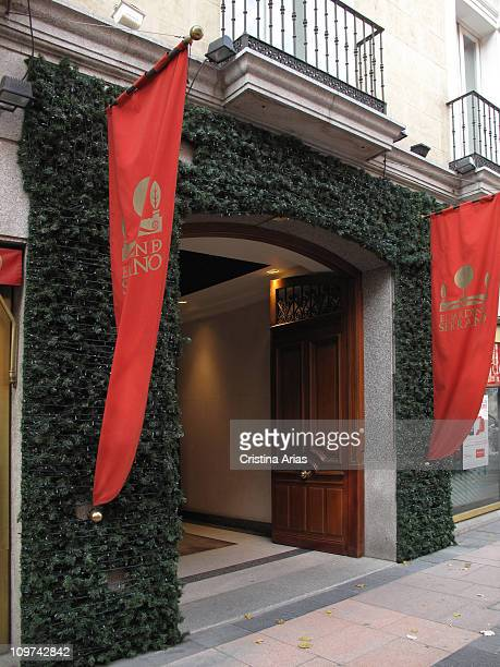 Entry door from El Jardin de Serrano a high quality shopping gallery located in two restored nineteenth century palaces in the heart of salamanca 's...